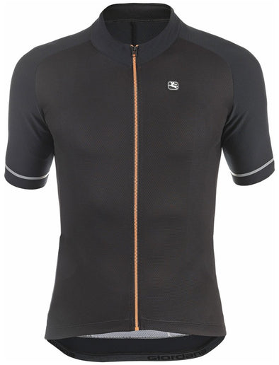 Giordana Lungo Short-Sleeved Jersey - Black - Classic Cycling