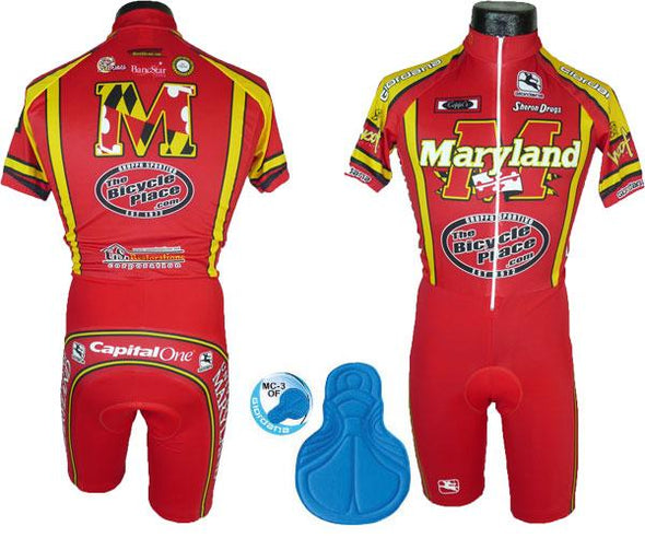 Giordana Maryland Short Sleeve Skin Suit - Classic Cycling