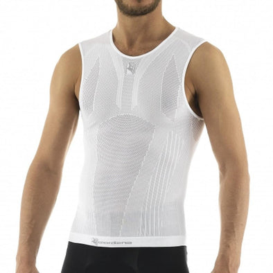 Giordana Men's Base Layer Light-Weight Tubular Knit Sleeveless - Classic Cycling