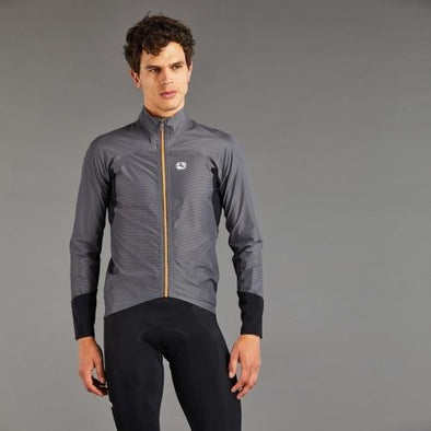 Giordana Monsoon Rain Jacket - Heavy - Dark Grey - Classic Cycling