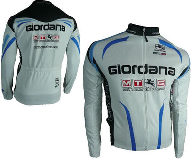 Giordana MTG Long Sleeve Cycling Jersey- Euro Cut - Classic Cycling