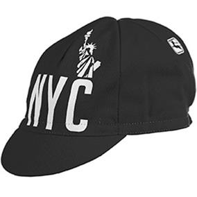 Giordana NYC Cycling Cap - Black - Classic Cycling