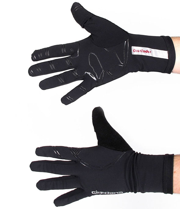 Giordana Overunder Glove ��� Black - Large - Classic Cycling
