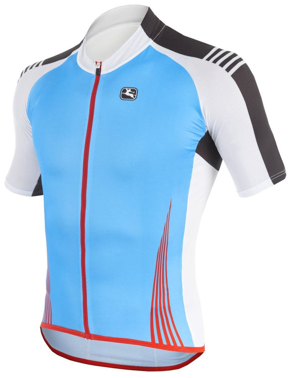 Giordana Sahara Short Sleeve Jersey - Blue - Classic Cycling