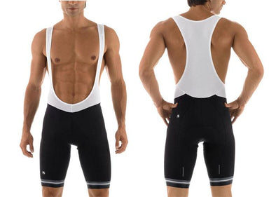 Giordana Silverline Bib Shorts Black - Classic Cycling