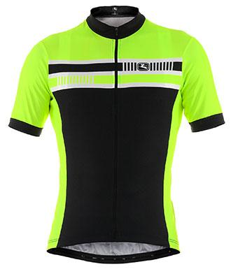 Giordana Silverline Giro Short Sleeve Jersey Fluorescent - Classic Cycling
