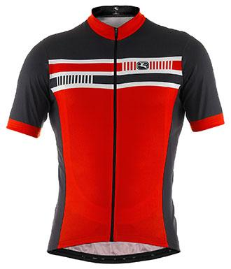 Giordana Silverline Giro Short Sleeve Jersey Red - Classic Cycling