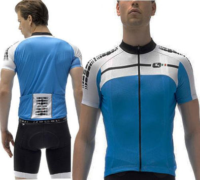 Giordana Silverline Jersey Light Blue - Classic Cycling