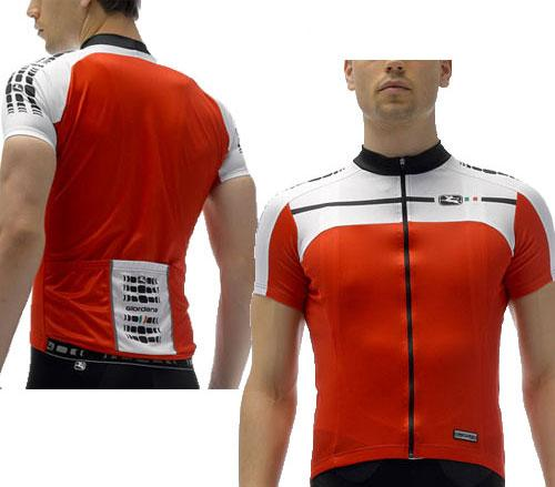 Giordana Silverline Jersey Red - Classic Cycling