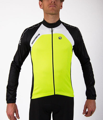 Giordana Silverline Long Sleeve Jersey Fuorescent - Classic Cycling
