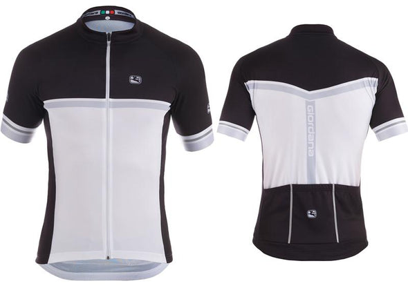 Giordana Silverline Raglan Short Sleeve Jersey Black - Classic Cycling