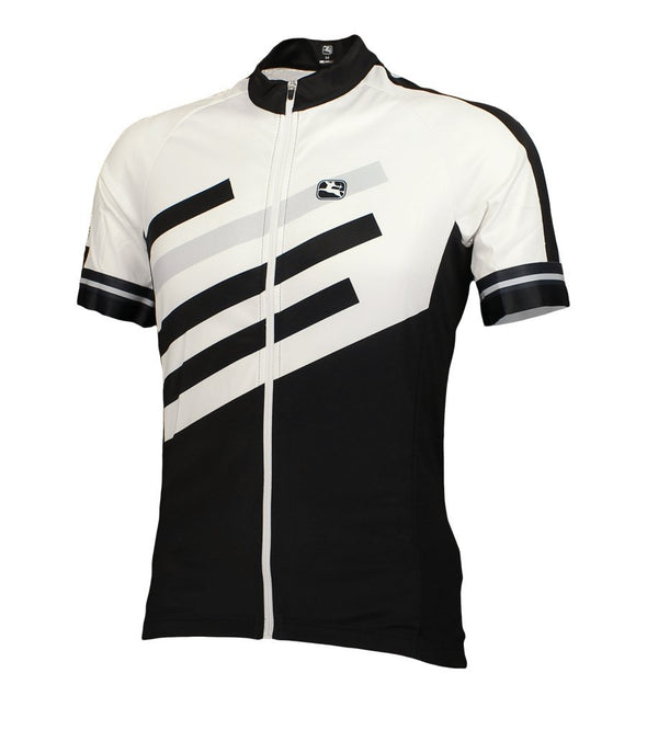 Giordana SilverLine Short Sleeve Jersey Black - Classic Cycling