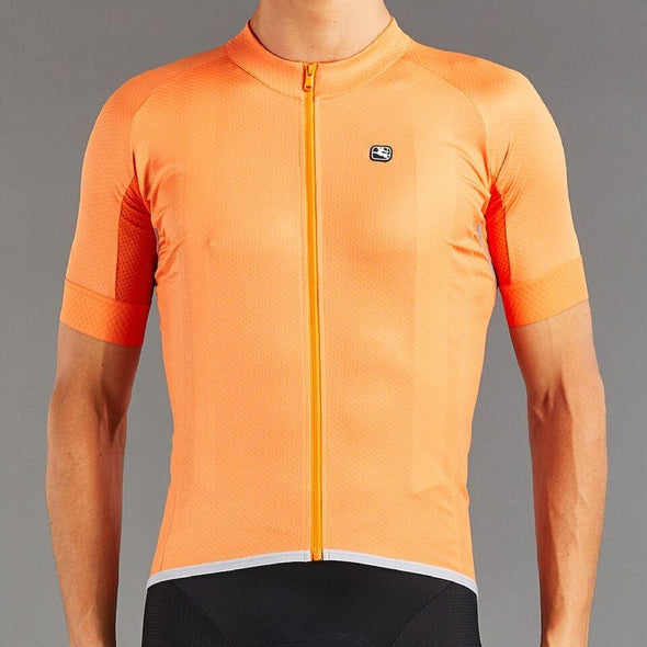 Giordana SilverLine Short Sleeve Jersey - Full Orange - Classic Cycling