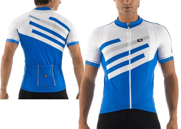 Giordana SilverLine Short Sleeve Jersey Light Blue - Classic Cycling