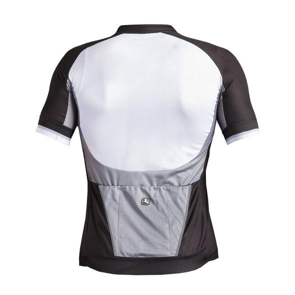 Giordana Silverline Short Sleeve Jersey - White-Black - Classic Cycling