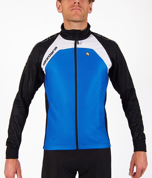 Giordana Silverline Thermal Cycling Jacket - Blue - Classic Cycling