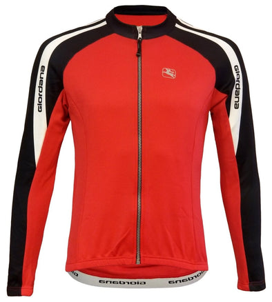 Giordana Silverline Womens Long Sleeve Jersey RED - Classic Cycling