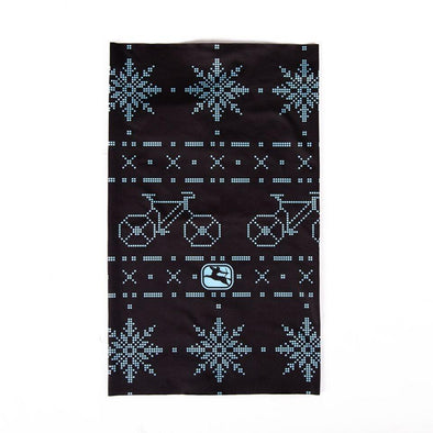 Giordana Snowflakes buffs - Blue-Light Blue - Classic Cycling