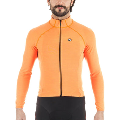 Giordana SOSTA Long Sleeve Jersey - Orange - Classic Cycling