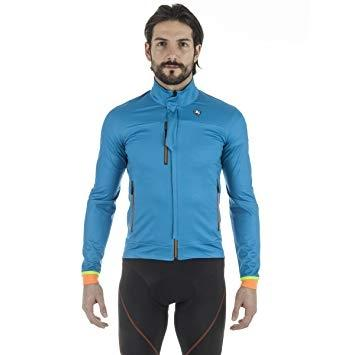 Giordana SOSTA Winter Jacket - Blue - Classic Cycling