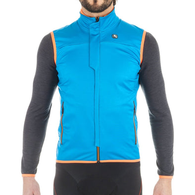 Giordana SOSTA Winter Vest - Blue - Classic Cycling
