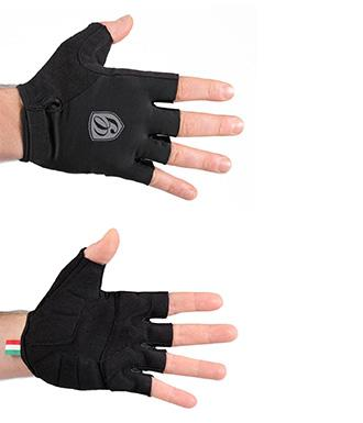 Giordana Sport Cycling Gloves Black - Classic Cycling