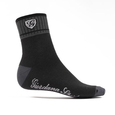 Giordana Sport Socks - Black Gray - Classic Cycling