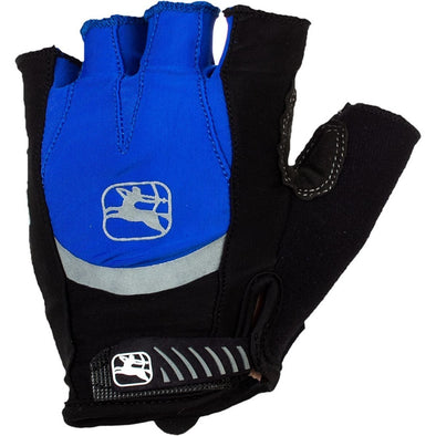 Giordana Strada Cycling Gel Gloves - Blue - Classic Cycling