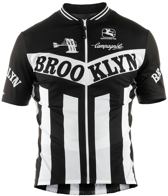 Giordana Trade Brooklyn Jersey-Black - Classic Cycling