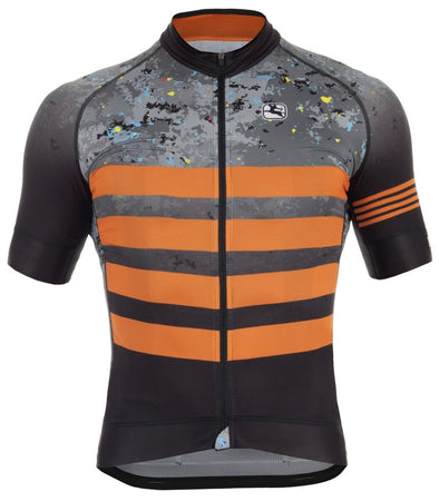 "Giordana Trade ""Concrete"" FR-C Short Sleeve Jersey - Orange - Classic Cycling"