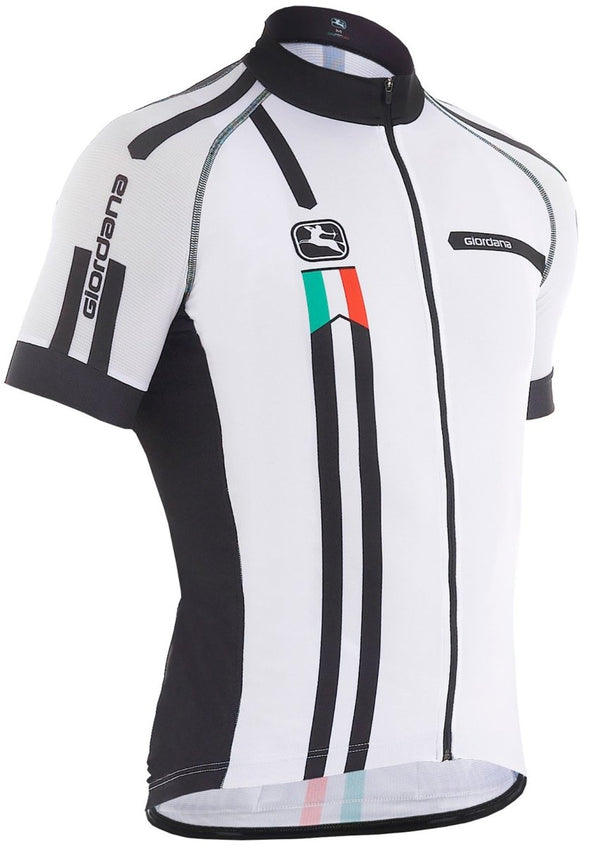 "Giordana Trade ""Squadra""  Scatto Short Sleeve Jersey - White - Classic Cycling"
