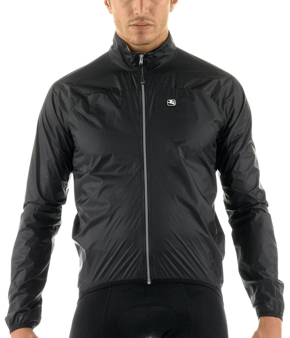 Giordana TriSeason Cycling Jacket Black - Classic Cycling