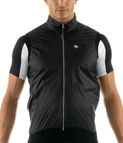 Giordana TriSeason Cycling Vest Black - Classic Cycling
