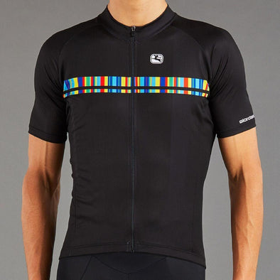Giordana Vero Pro Moda Spectrum Cycling  Jersey - Black - Classic Cycling