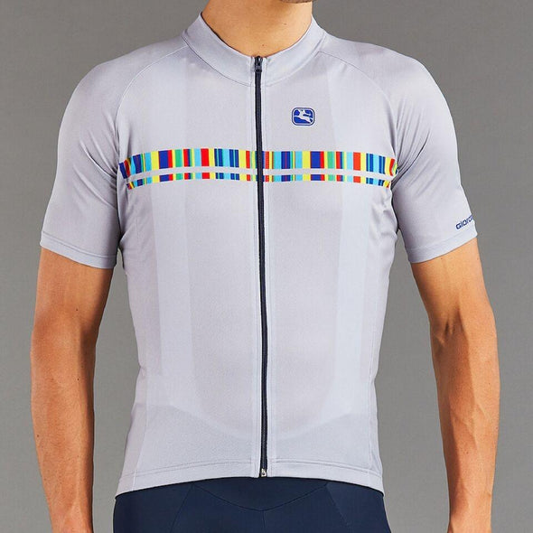 Giordana Vero Pro Moda Spectrum Cycling  Jersey - Grey - Classic Cycling