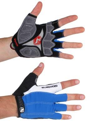 Giordana Versa Cycling Gloves Blue - Classic Cycling