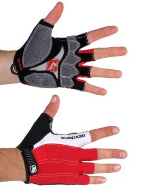 Giordana Versa Cycling Gloves Red - Classic Cycling