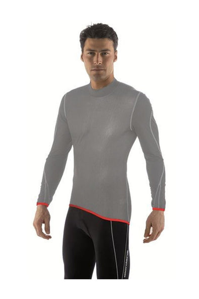 Giordana Wind Proof Base Layer Black Long Sleeve - Classic Cycling