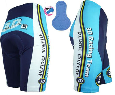 Giordana Womens 3D Atlantic Cycling Shorts - Classic Cycling
