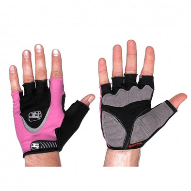 Giordana Women's Corsa Cycling Gloves - Pink - Classic Cycling