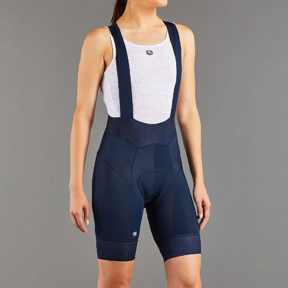 Giordana Women's FR-C Pro Bib Short - Navy - Classic Cycling