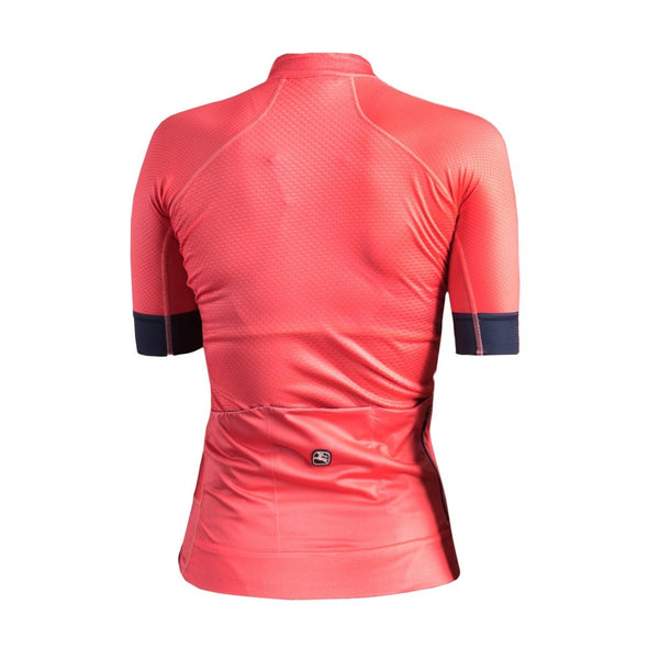 Giordana Women's FR-C PRO Short Sleeve Jersey - Coral-Navy - Classic Cycling
