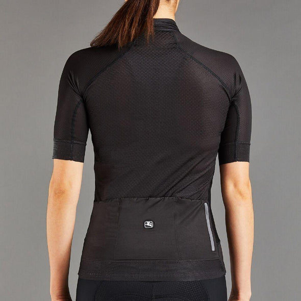 Giordana Women's FR-C PRO Short Sleeve Jersey - Full Black - Classic Cycling