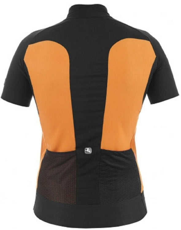 Giordana Women's FR-C Short Sleeve Jersey - Orange - Classic Cycling