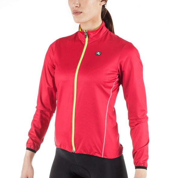 Giordana Women's Fusion Winter Jacket - Pink - Classic Cycling