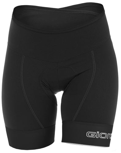 Giordana Women's Lungo Short - Black - Classic Cycling