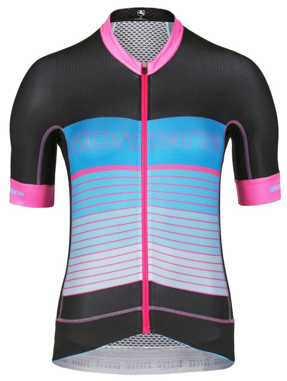 "Giordana Women's Moda FR-C Pro ""Get in Line"" Short Sleeve Jersey - Classic Cycling"