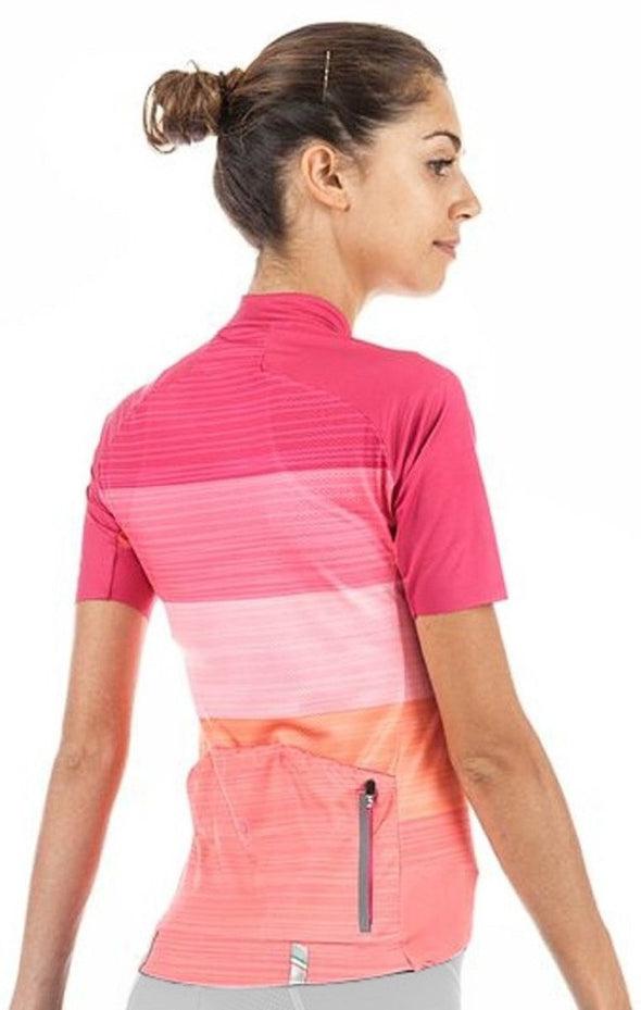 "Giordana Women's Moda Tenax ""Sweet Escape"" Pro Short Sleeve Jersey - Classic Cycling"