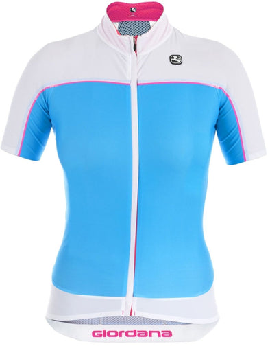 Giordana Women's NX-G Short Sleeve Jersey - Blue - Classic Cycling