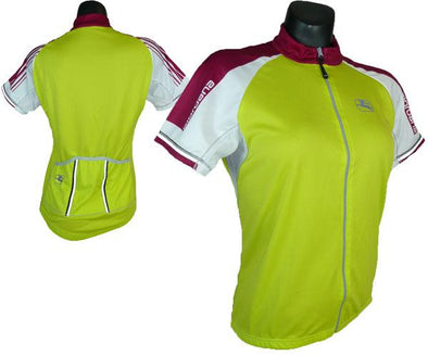 Giordana Womens Silverline Full Zip Cycling Jersey - Classic Cycling